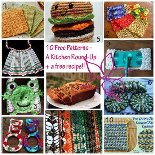 10 Free Kitchen Crochet Patterns Roundups On Crochetstreet