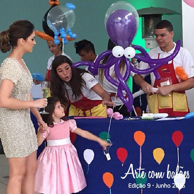 """Leia """"A matéria de Oficinas com balão""""  na www.revistaartecombaloes.com.br"""