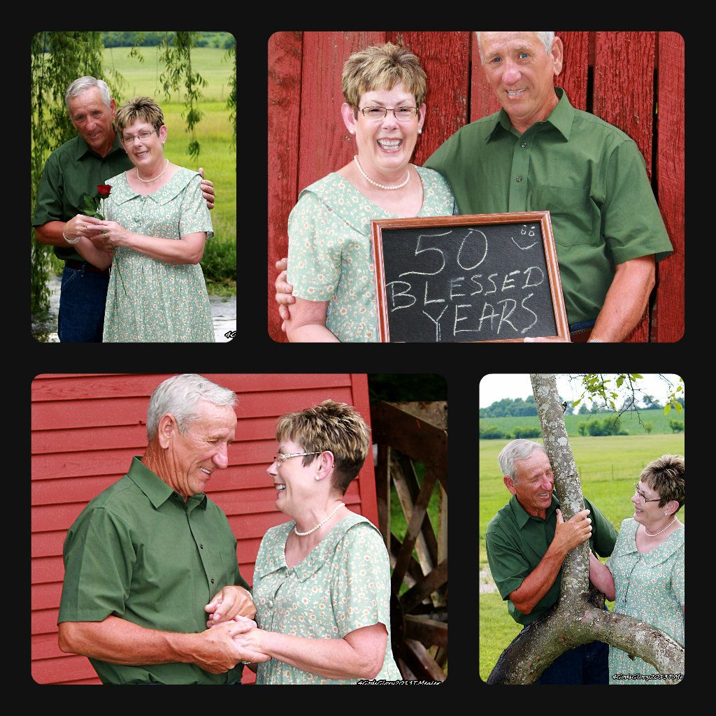 Wedding Poses With Parents: 50th Anniversary Shoot,