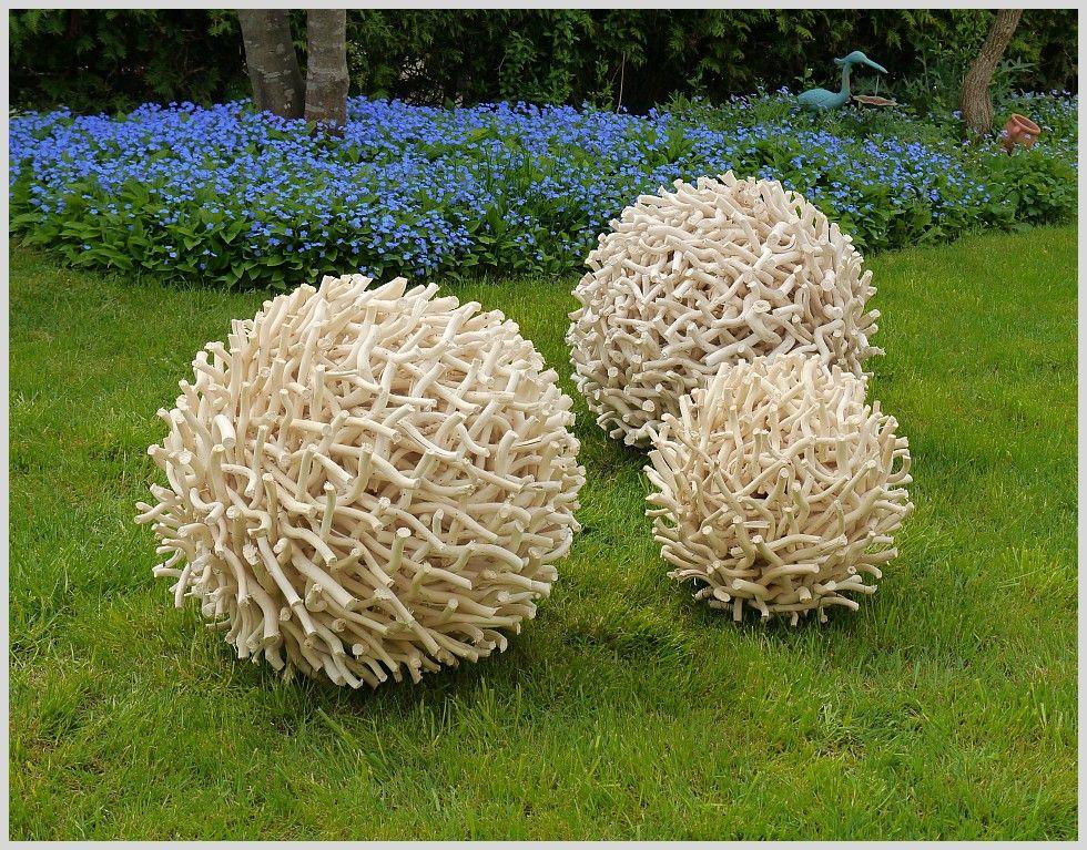 Deko Garten Holz. sommerblume *spitz* 20cm aus holz garten-deko ...