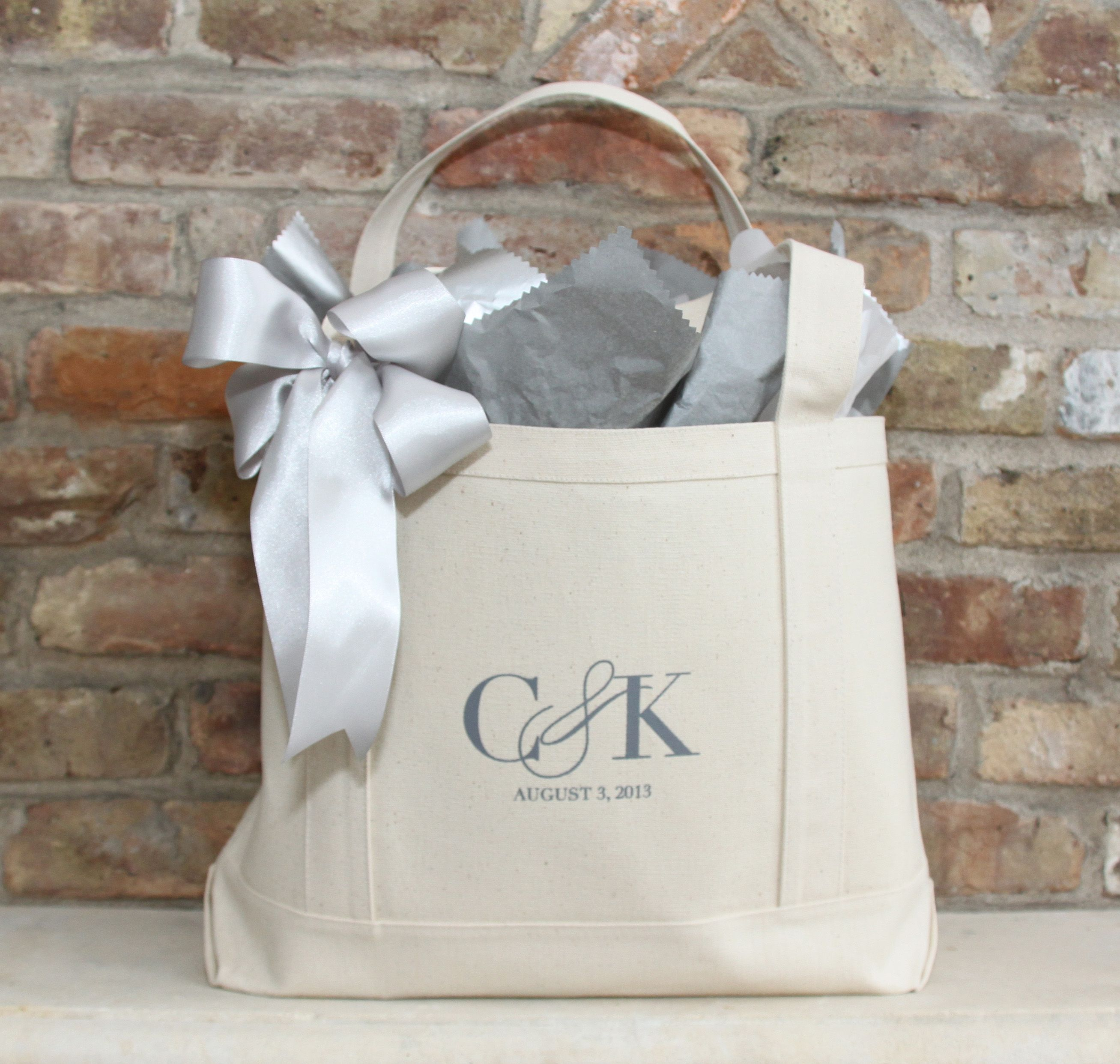 Bridal Shower Gift Idea // Custom Tote Bags | wedding | Pinterest ...