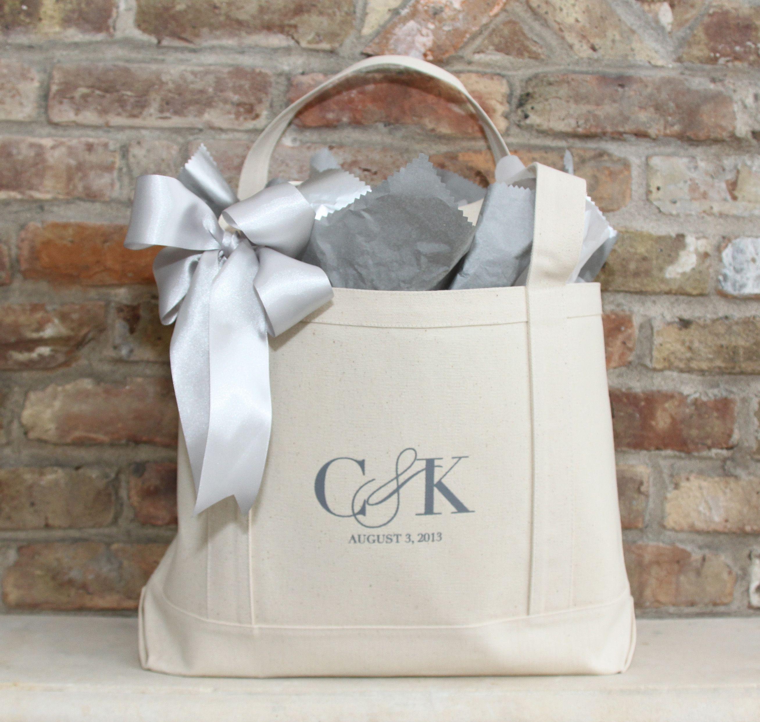 Bridal Shower Gift Idea // Custom Tote Bags | wedding | Pinterest ...
