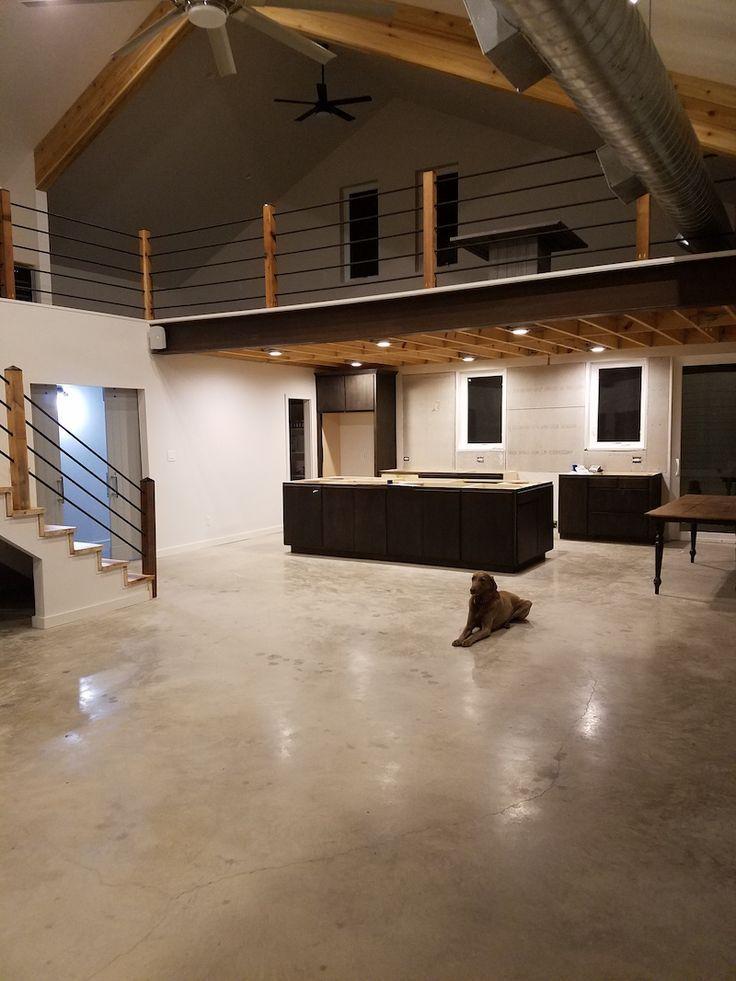 Prefab Steel Home TX Living Quarters