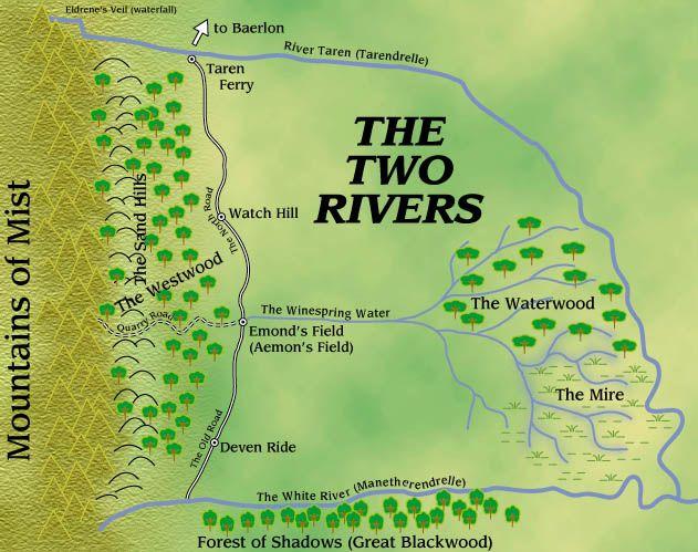 İki Nehir Haritası