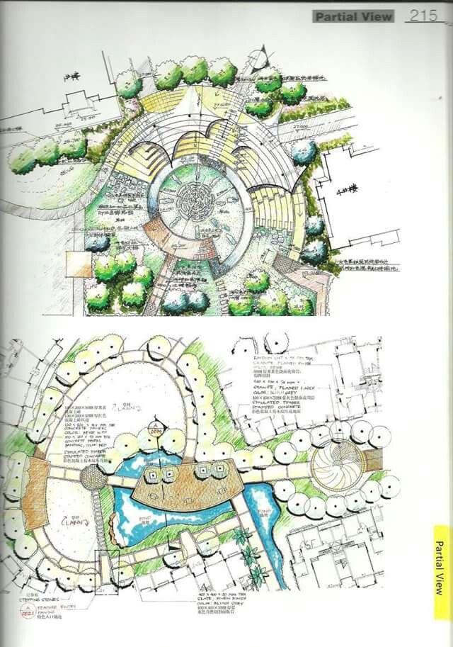 landscape architecture section drawings landscape architecture