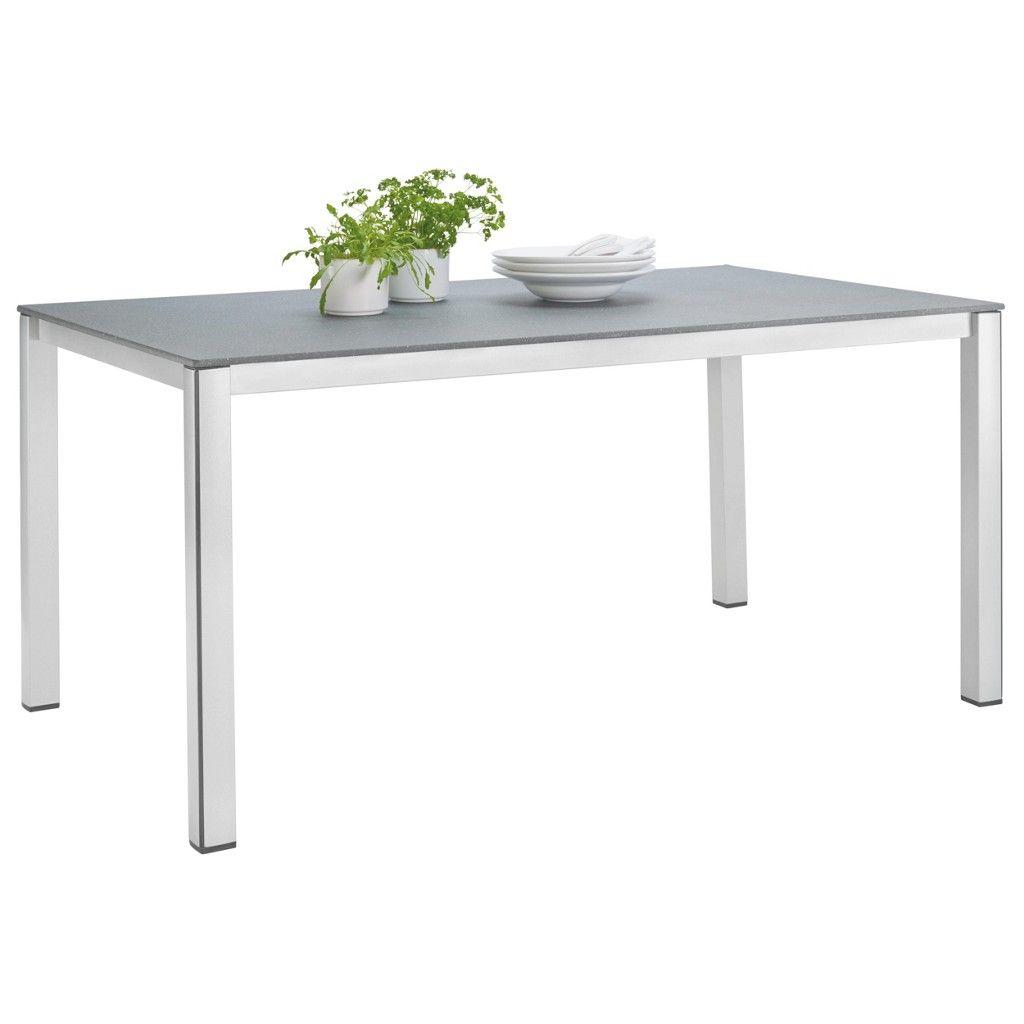 Mwh Gartentisch Metall Stein Grau Grau Jetzt Bestellen Unter
