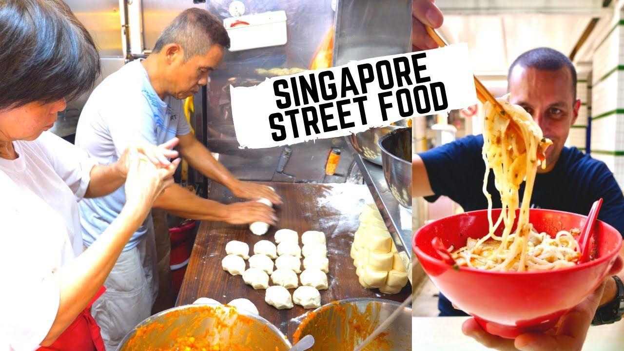 Street Food In Singapore Best Singapore Hawker Center What To Eat In Food Street Food Best Street Food