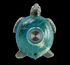 Handpainted Green Turtle Doorbell
