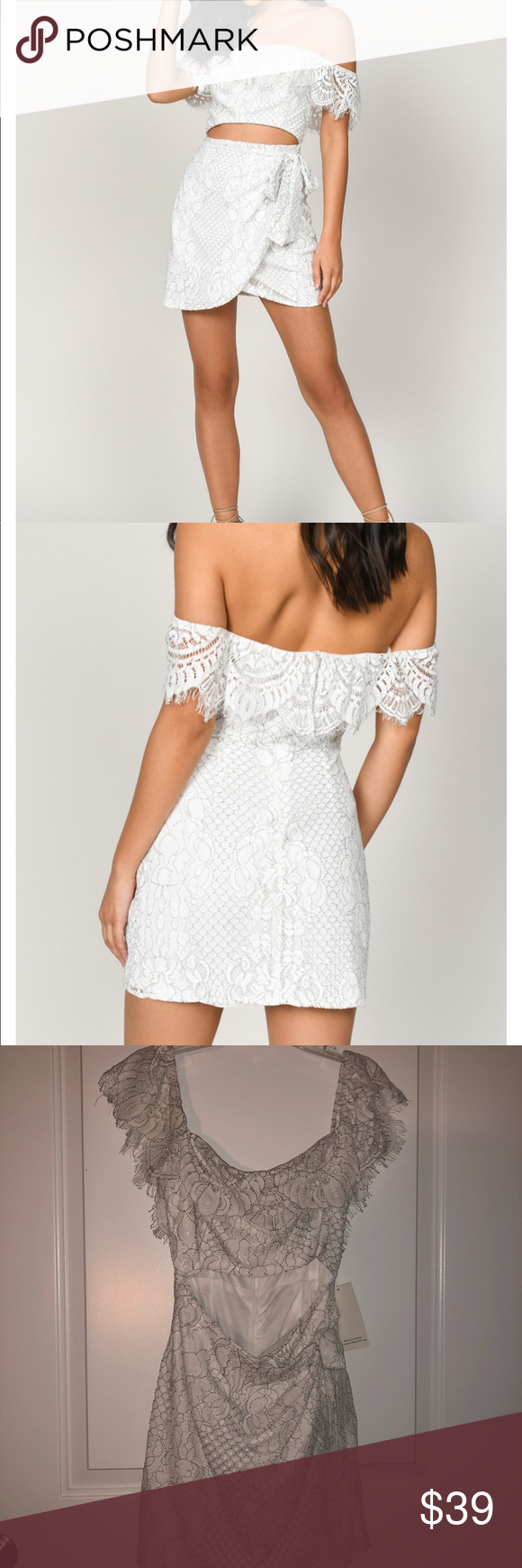 Tobi Strapless Lace Dress Strapless White Lace Dress Strapless Lace Dress Lace Dress [ 1740 x 580 Pixel ]
