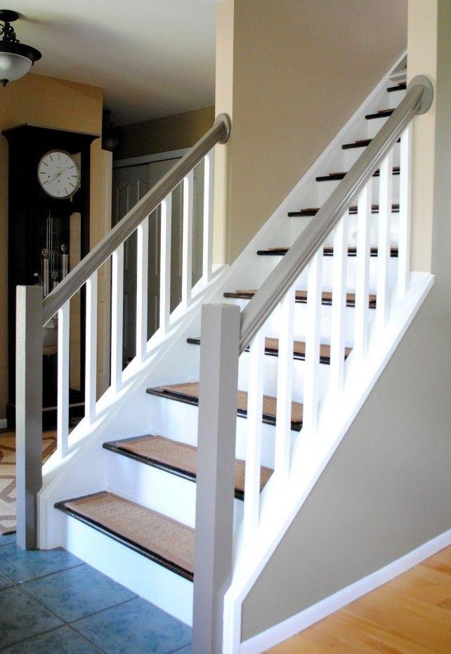 23 Treppengeländer Streichen Ideen Treppe Haus