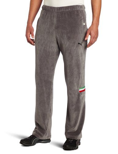 puma ferrari velour pants