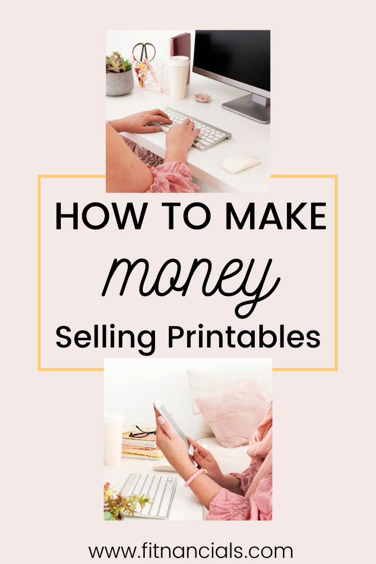 How To Make 5 000 A Year Selling Printables On Etsy Etsy Printables Etsy Business How To Make