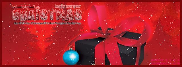 FB Timeline Xmas Gift with Christmas Greetings Facebook Cover ...