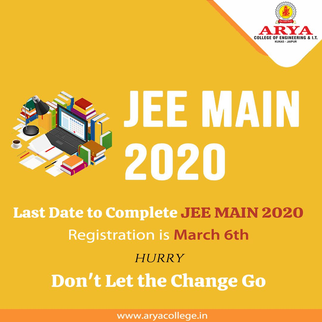 Iit Jee Jee Main Jee Advanced Arya College Of Engineering It In 2020 College Engineering Engineering Colleges
