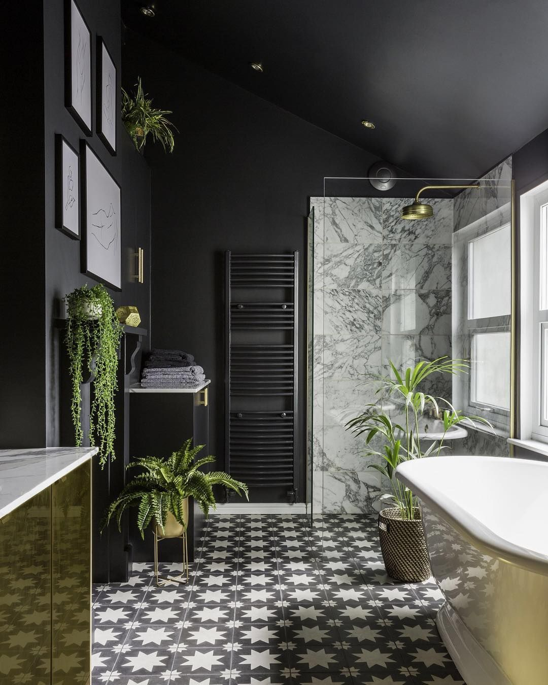 Deep and moody shades are finding their way into our homes with black interiors becoming the must have look whether it   wallpaper charcoal paint also stylish room ideas for  modern home aw pinterest rh