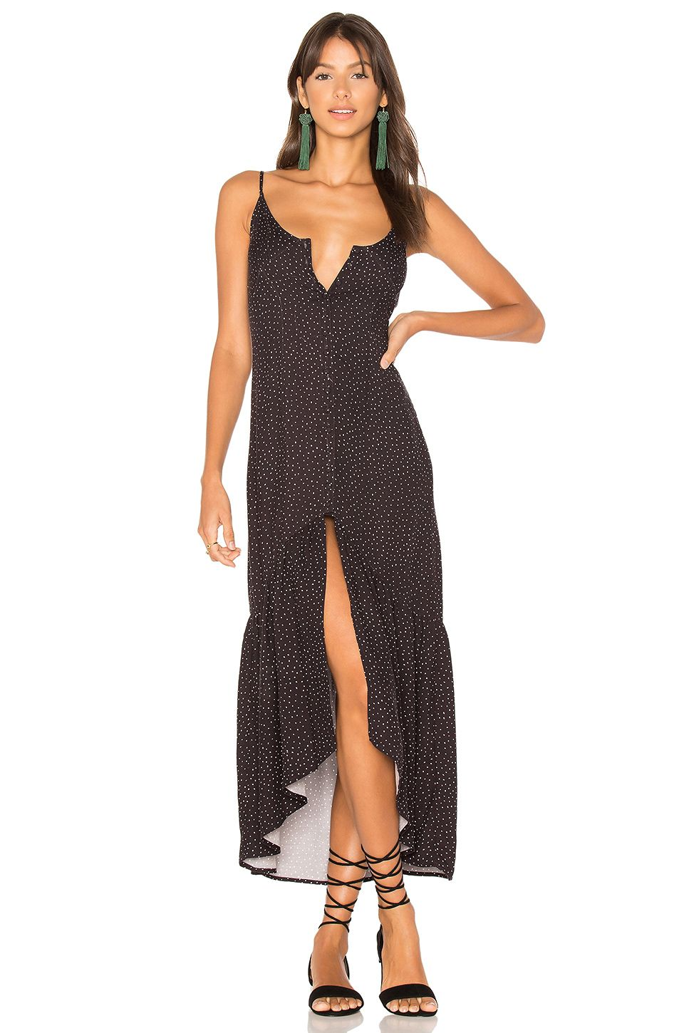 c669583a38d MINKPINK Mantaray Maxi Dress in Black & White | A Certain Kind Of ...