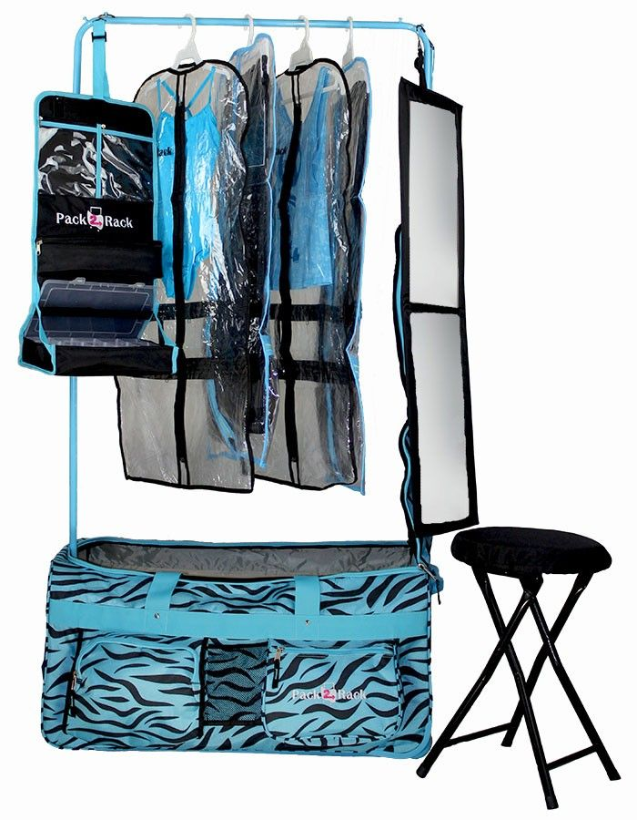 Dance Bag With Garment Rack Fascinating Pack 60 Rack Rolling Foldable Dance Bag Chicklet Style Pinterest