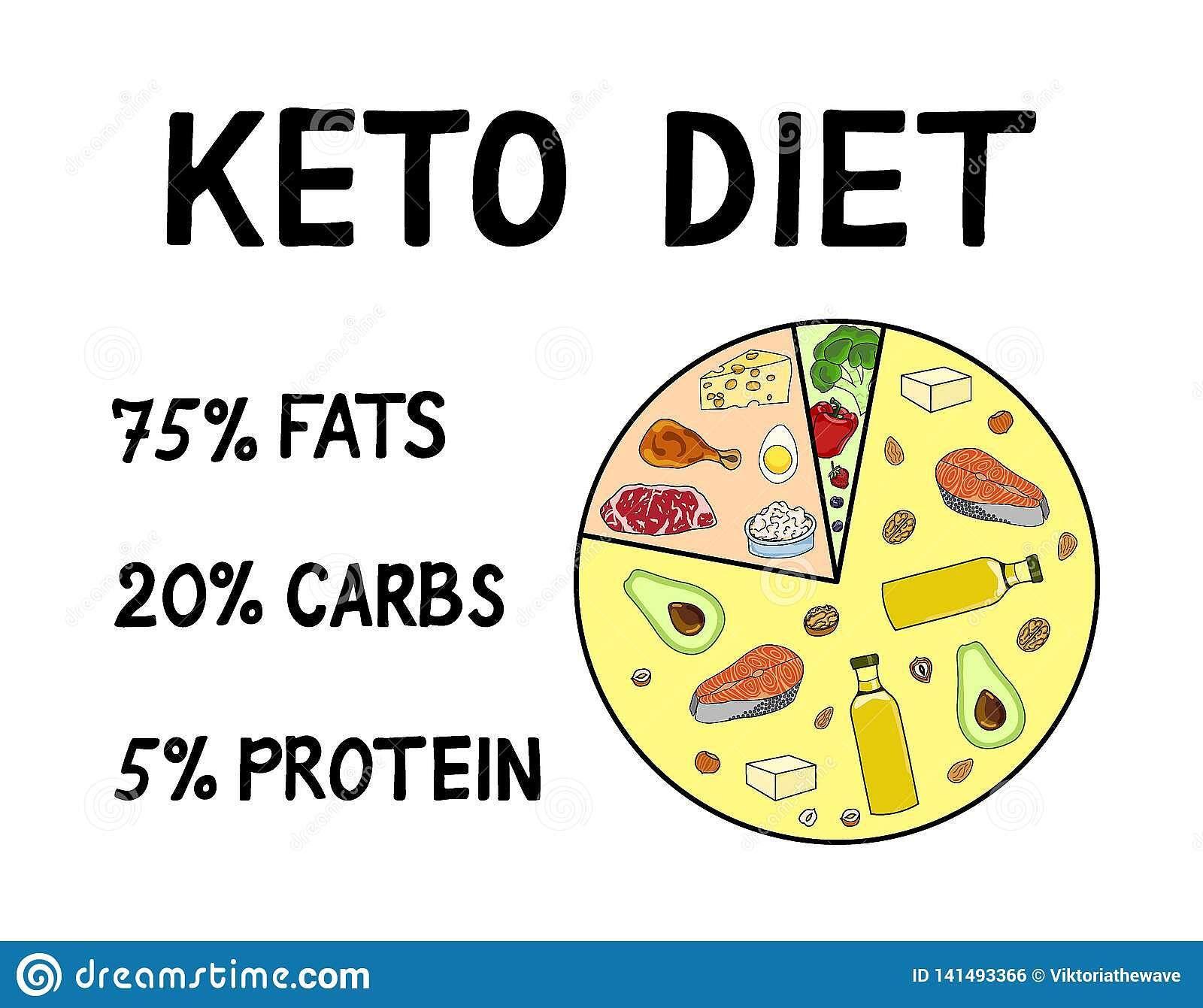 Ketogenic Diet Macros Diagram Stock In 2020 Manual Guide