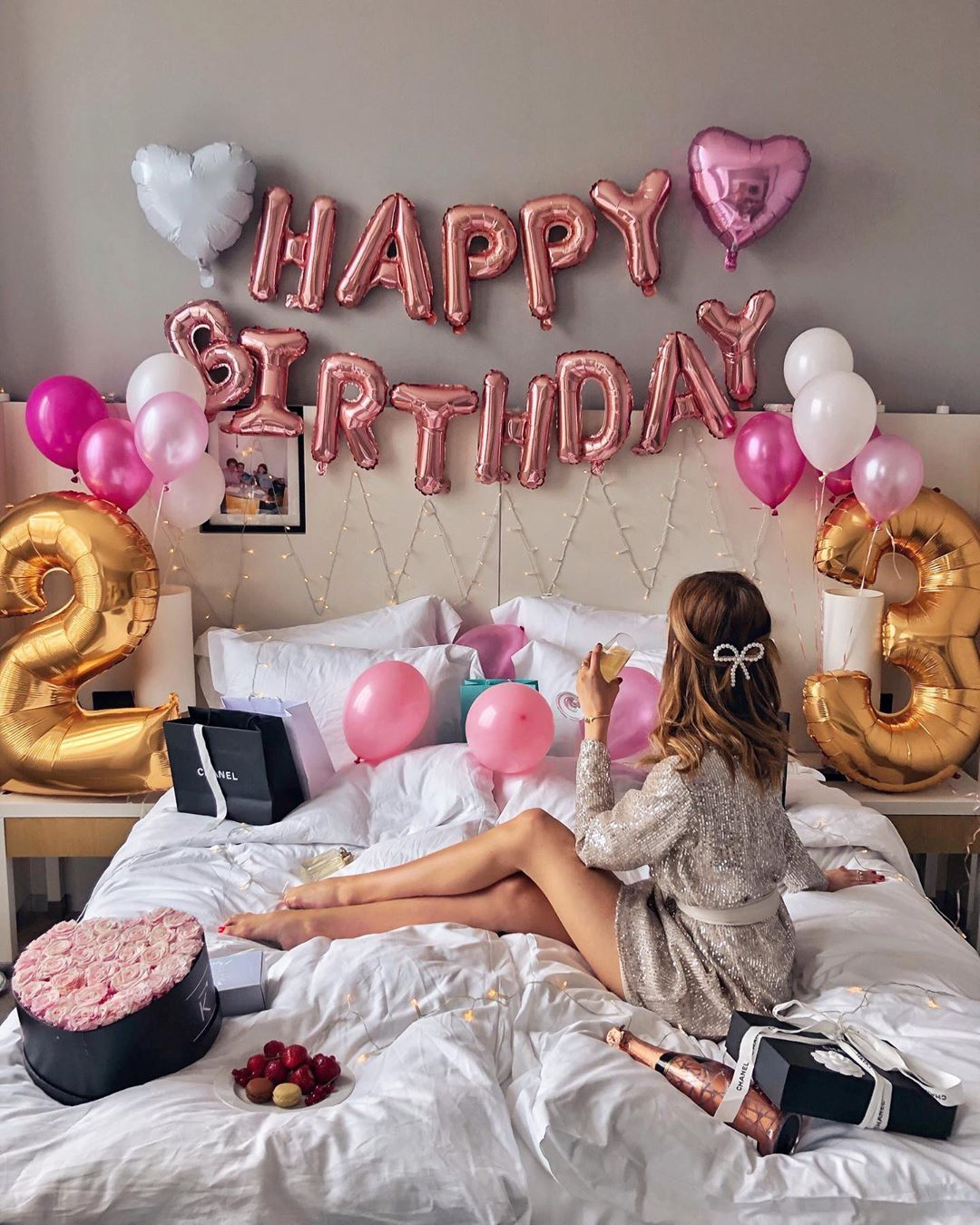 Birthday Girl Celebrated My 23rd Birthday At Sofitelhamburgalterwall Decoracion Cumpleanos Mujer Adulta Decoracion Cumpleanos Mujer Diseno De Cumpleanos
