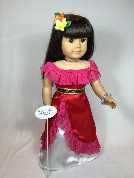 AG Handmade Clothes Princess Elena of Avalor Dress by Loisdesigns ...