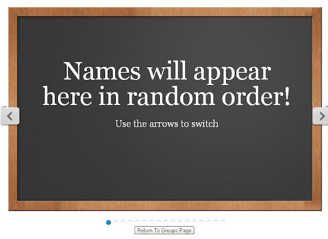 The Random Name Generator will randomly draw a name from your - free classroom seating chart maker