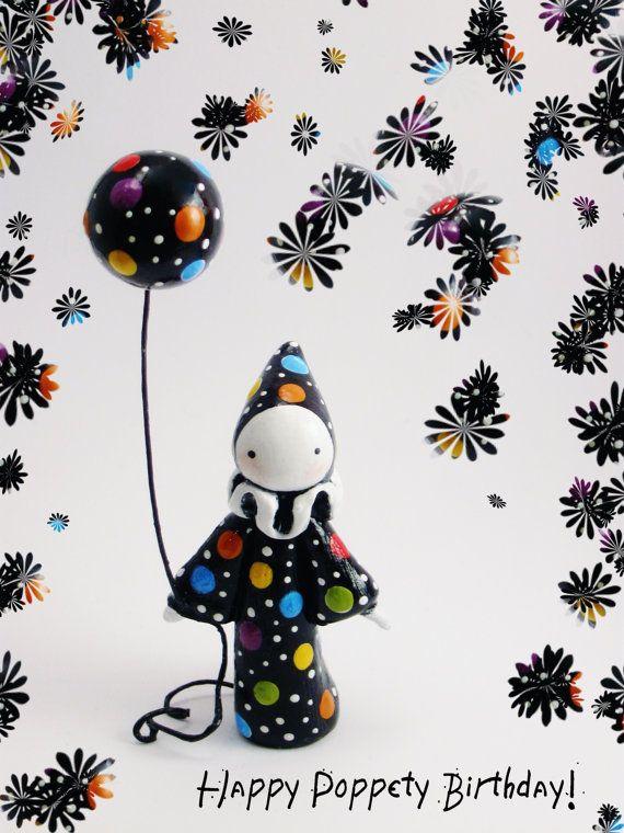 Happy Birthday Poppet by Strangestudios on Etsy, $45.00