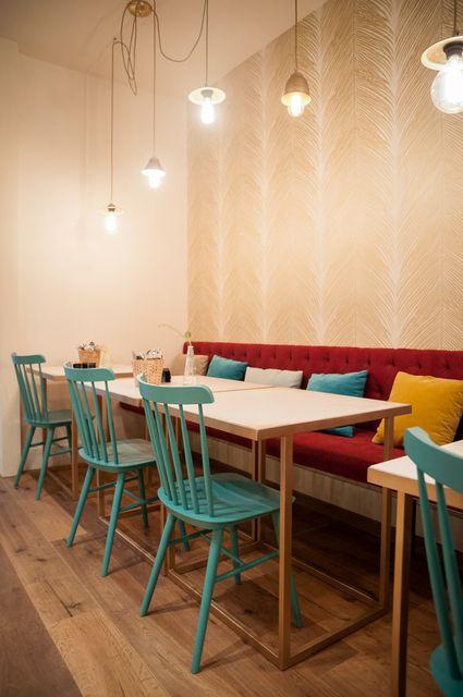 La d co color e d 39 un restaurant madril ne d co caf et restaurant pinterest et - Restaurant la salle a manger a salon de provence ...