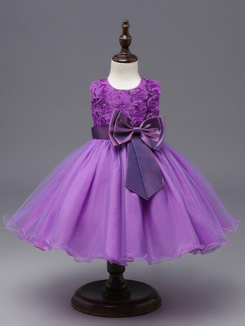 Flower Sequins Princess Toddler Elsa girls Dresses summer 2017 ...