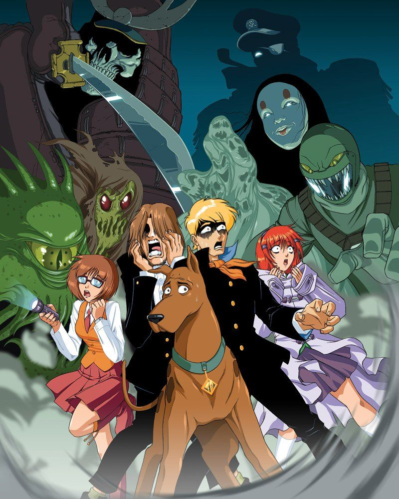 If Your Favorite Franchises Were Turned Into Anime Scooby Doo Memes Anime Scooby Doo Mystery Incorporated