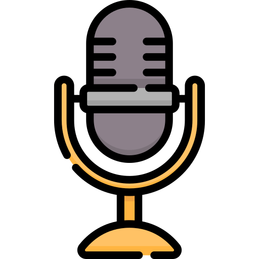 Voice Message Microphone Button Free Vector Icons Designed By Google In 2020 Vector Free Vector Icons Free Icons