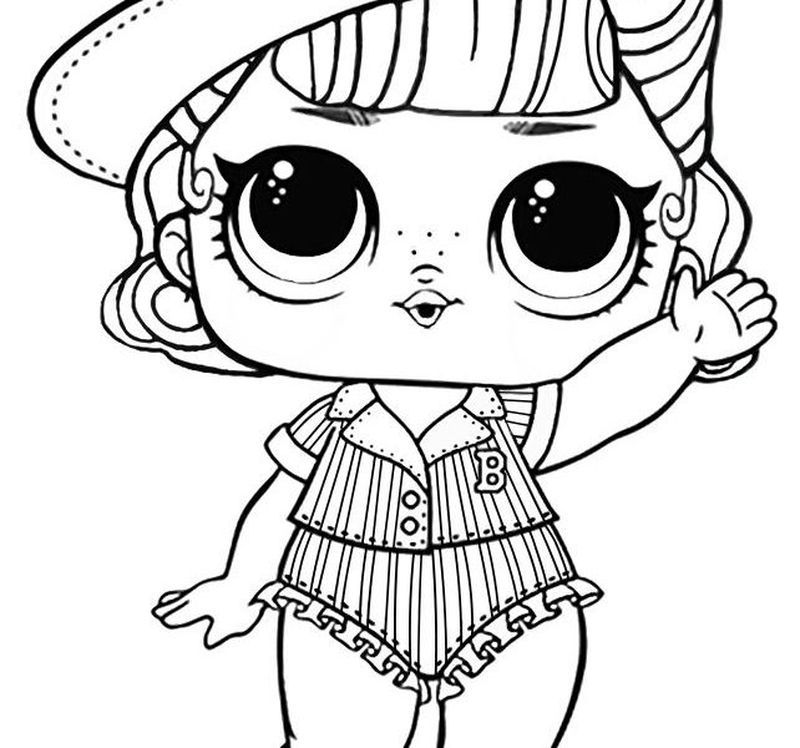 Lol Surprise Coloring Pages Printable Printable Coloring Pages To Print Coloring Pages Lol Dolls Angel Coloring Pages