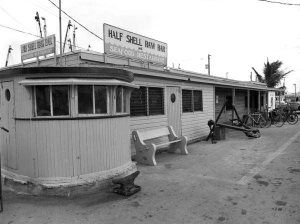 Florida Memory View Of The Half Shell Raw Bar Seafood