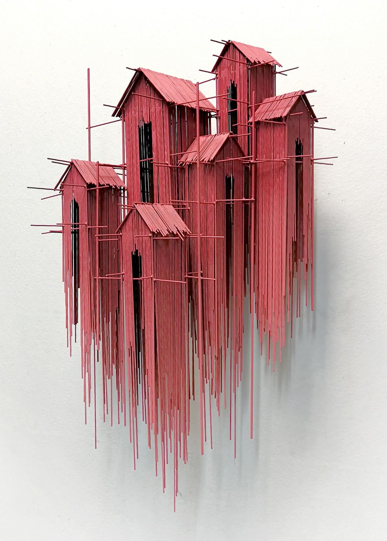 New Architectural Sculptures by David Moreno Appea