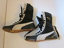 puma high top boxing shoes | Puma Boxing Shoes Mens Size 6