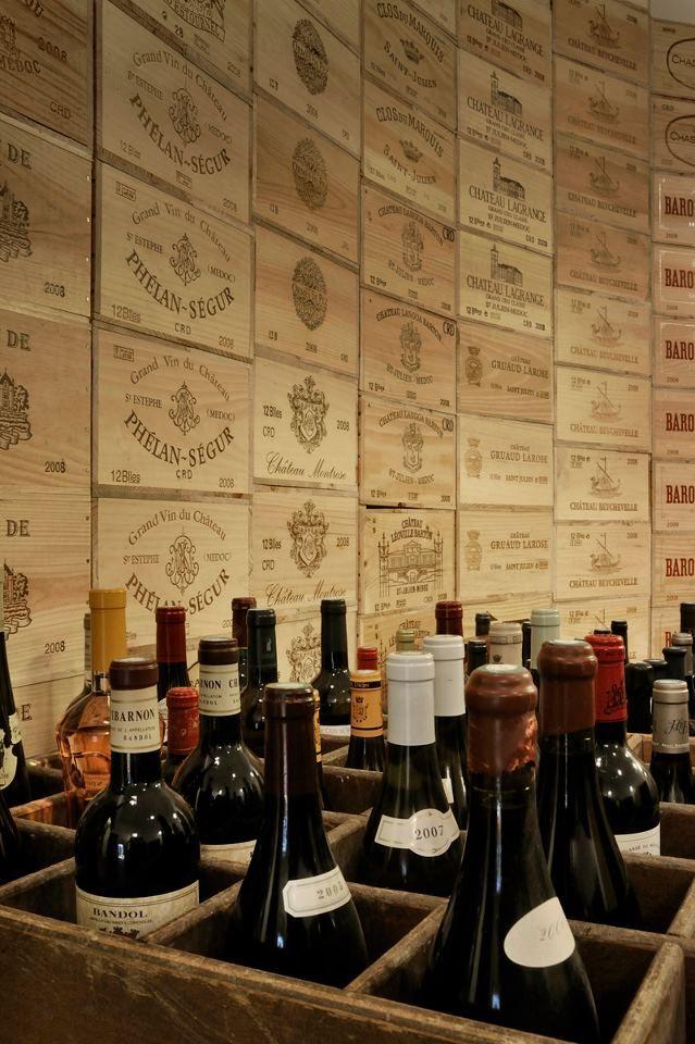 The Legendary Wine Cellars At The Hotel De Paris Monte Carlo