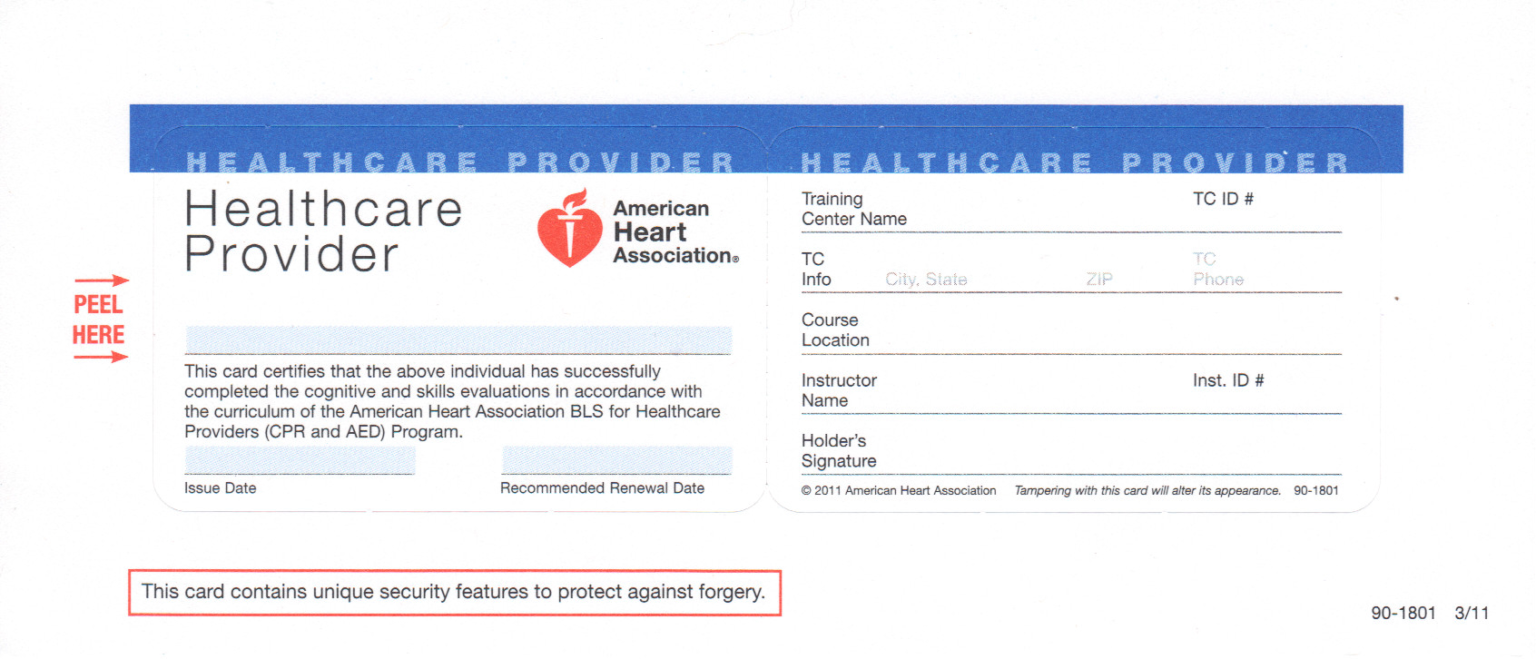 9 Best Photos Of Print Blank Cpr Card American Heart In Cpr Card Template Callforpcissues Review Free Business Card Templates Cpr Card Website Template