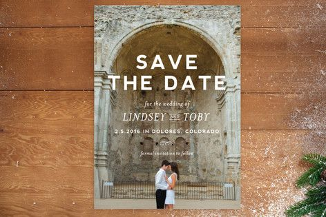 Memento Save The Date Postcards