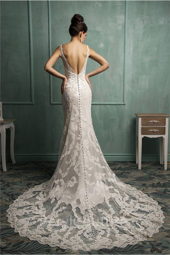ab5664c173 36 Low Back Wedding Dresses