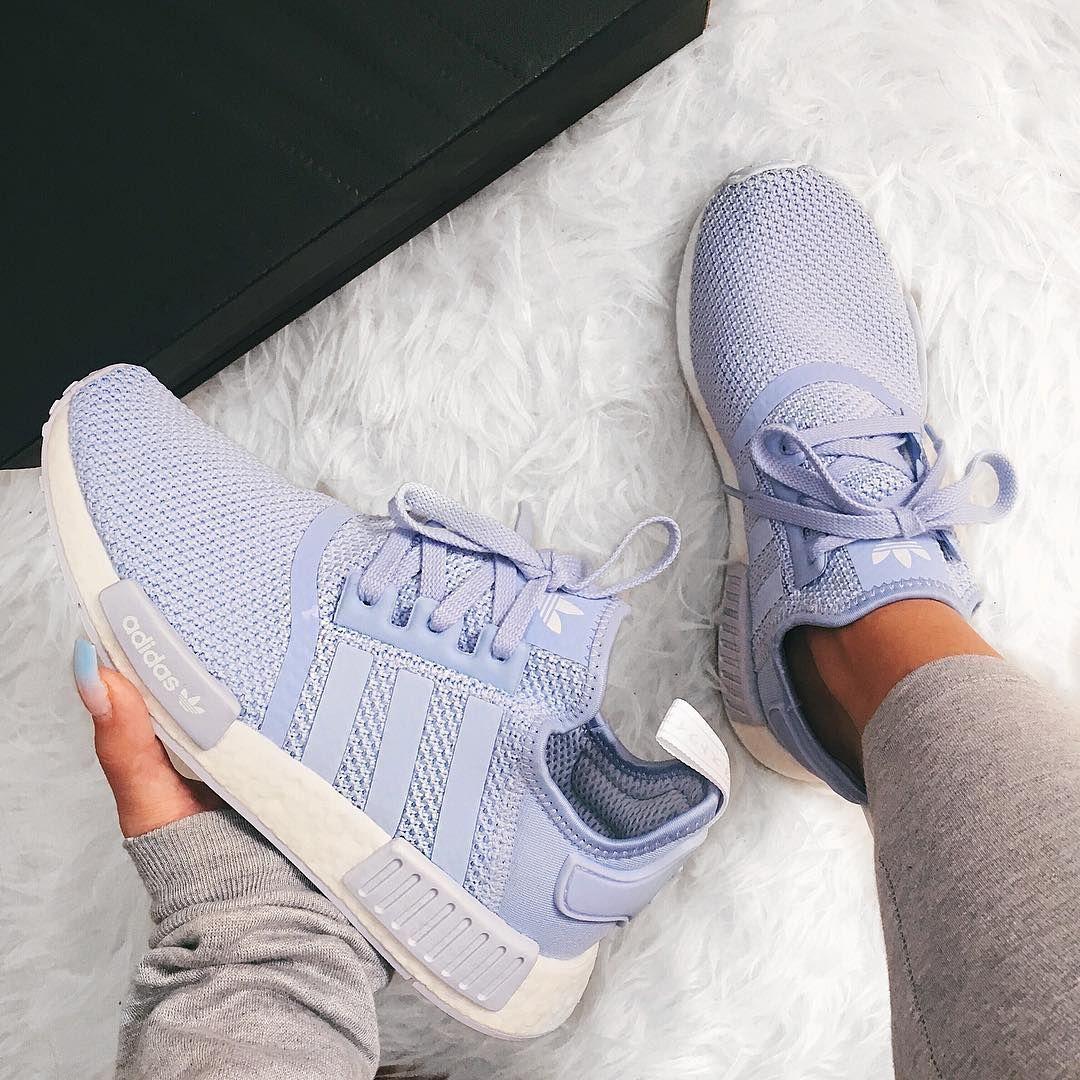 Baby Blue Adidas Sneakers   Adidas