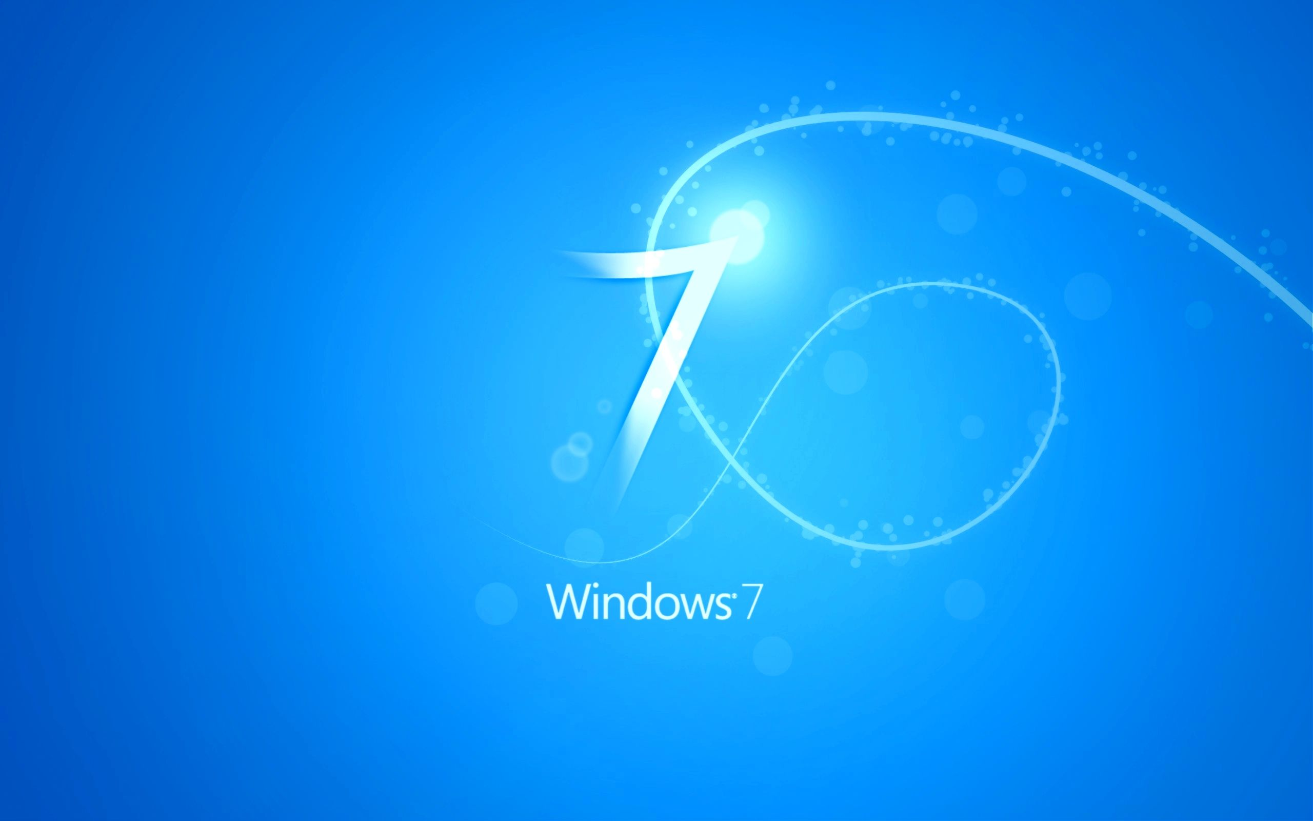 Windows 7 Blue Wallpaper For Your Deskop Projects To Try