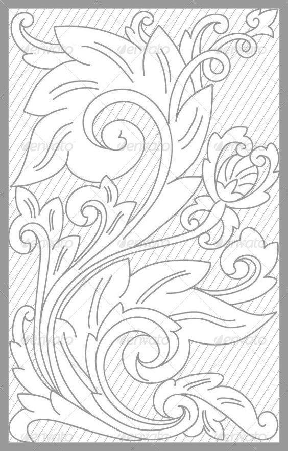 Pin de Susana en patrones para repujado de iconos | Pinterest