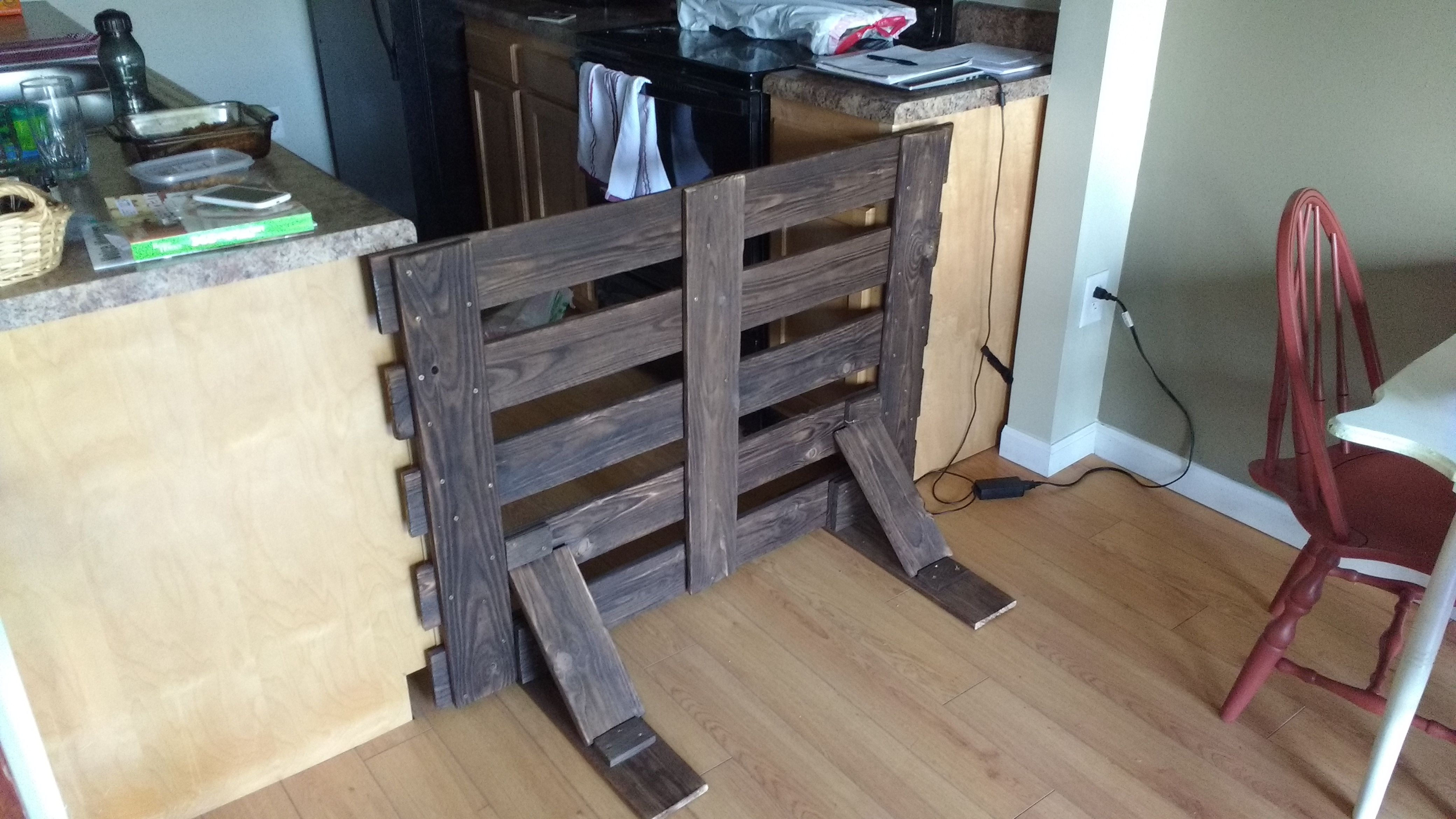 Free Standing Baby Gate Diy Baby Gate Baby Gates Home Projects