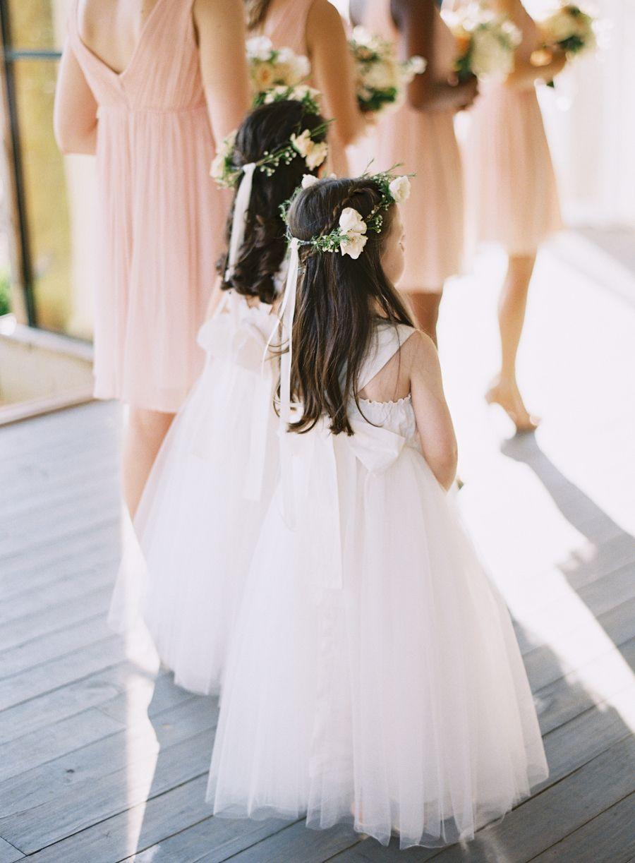 Rustic wedding flower girl dresses  Rustic Elegance in Nashville Tennessee at Mint Springs Farm