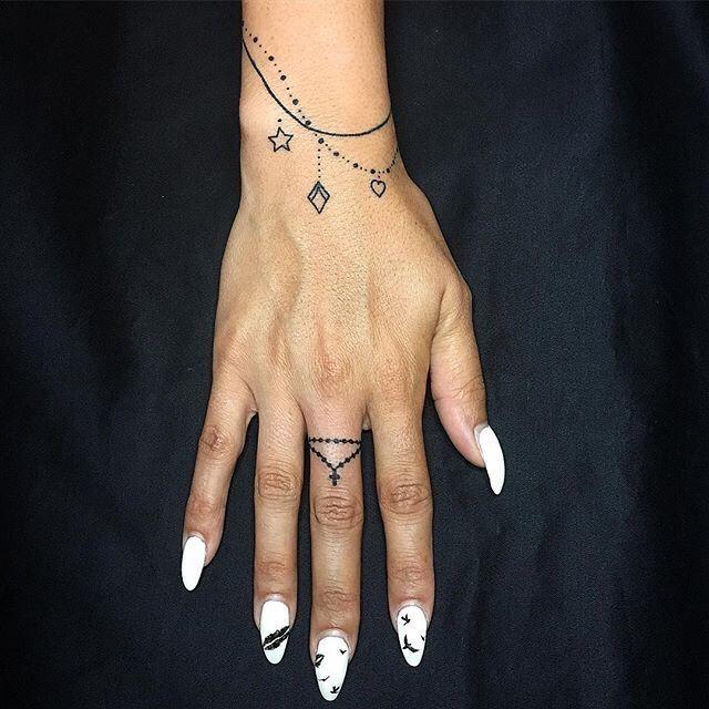30x die besten Armband-Tattoos – Eine Hand in meiner Tasche   – tattoos