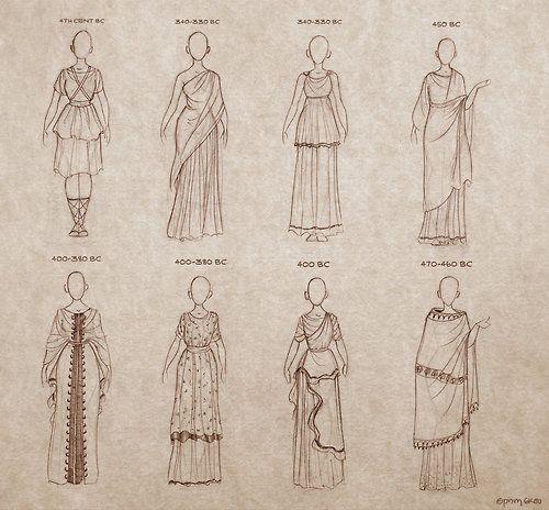 Ancient Greek Dresses … | Greek and Roman | Pinterest | Ancient ...