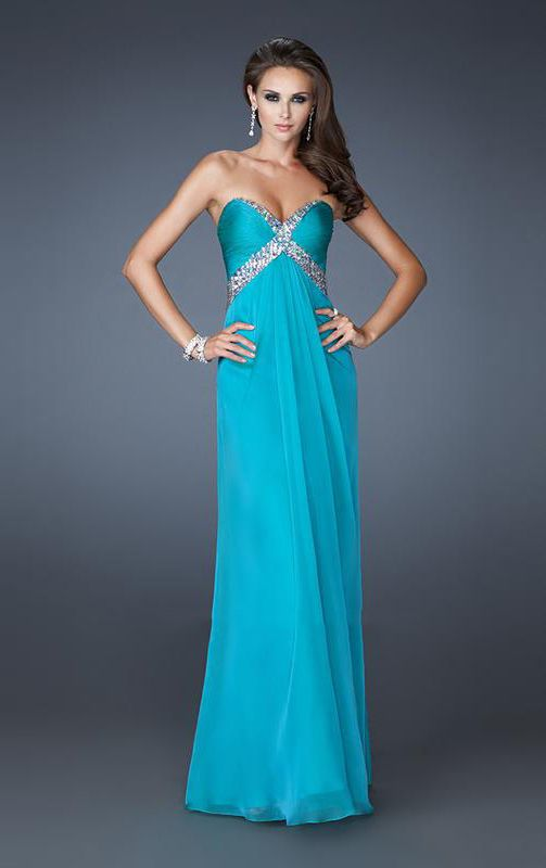 Cheap Empire Sheath Sweetheart Criss-cross Floor-length Prom Dress From Highly Praised Online Shop