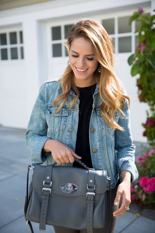 Grey Mulberry Bag - Gal Meets Glam