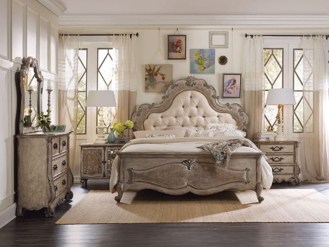 Hooker Furniture Chatelet Upholstered Panel Bedroom Setcome Home Amusing Whole Bedroom Sets Design Ideas