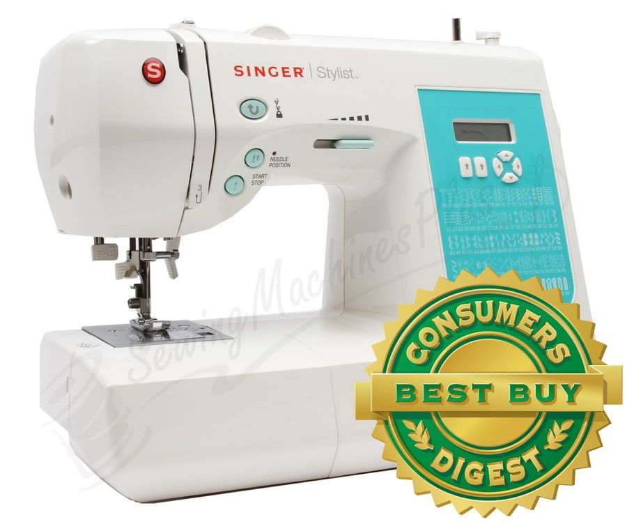 Singer Stylist 7258 100-Stitch Sewing Machine Consumer ...