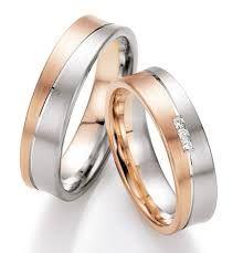 Resultado De Imagen De Trouwring Bicolor Rings Wedding